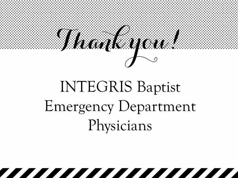 INTEGRIS Baptist Emergency Department Physicians