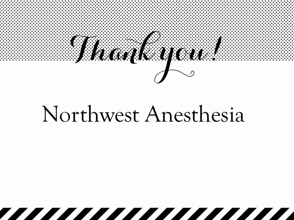 Northwest Anesthesia