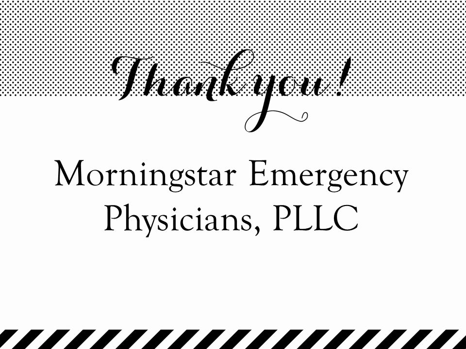 Morningstar Emergency Physicians, PLLC
