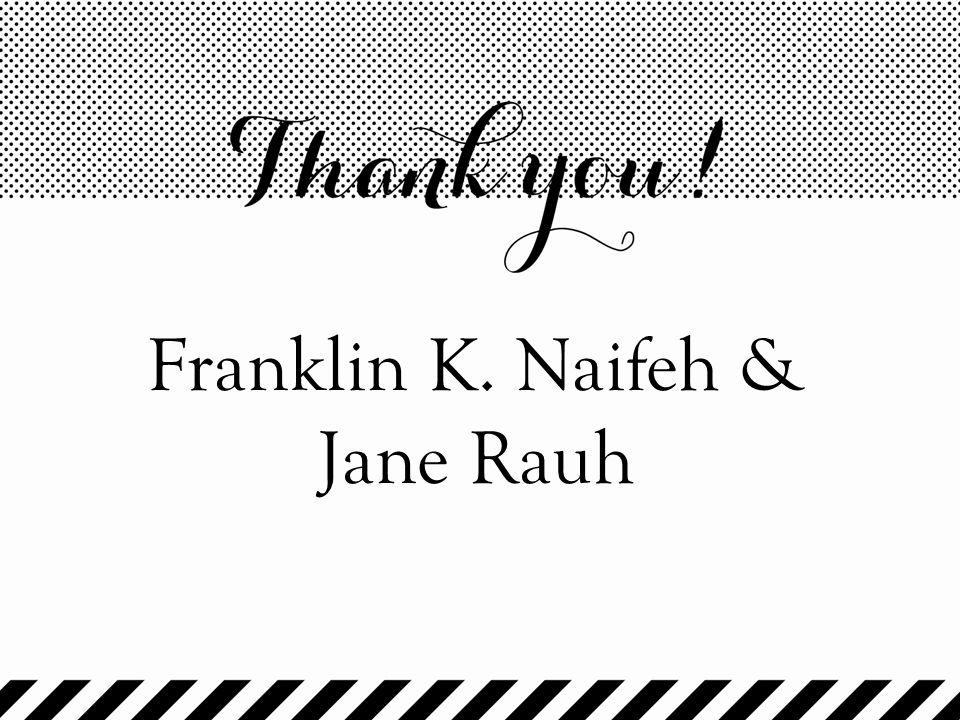 Franklin K. Naifeh & Jane Rauh