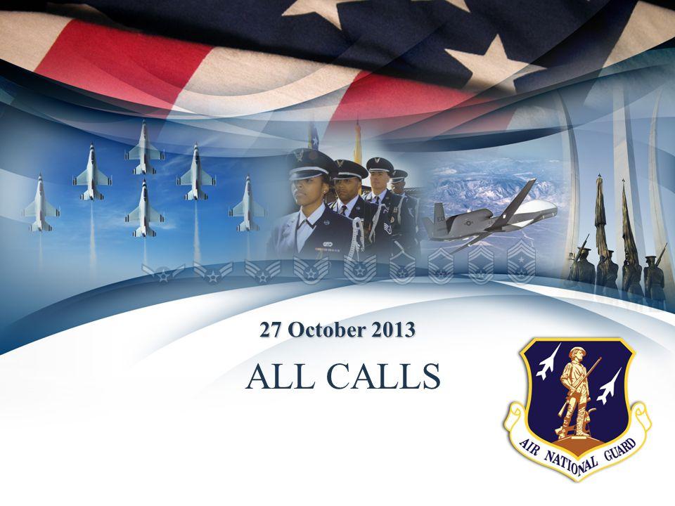 ALL CALLS 27 October 2013