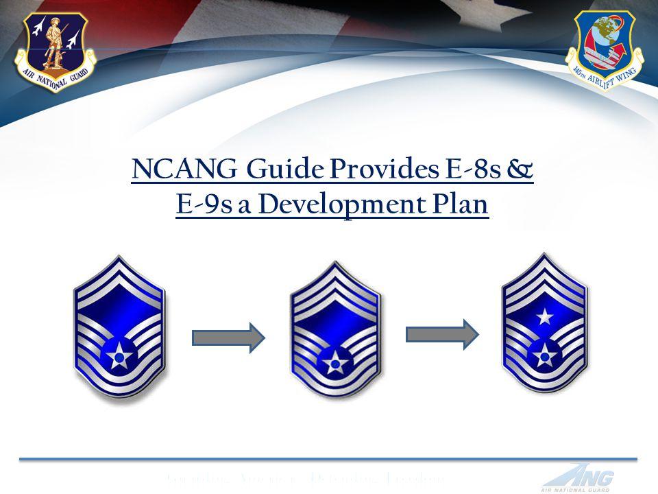 NCANG Guide Provides E-8s & E-9s a Development Plan