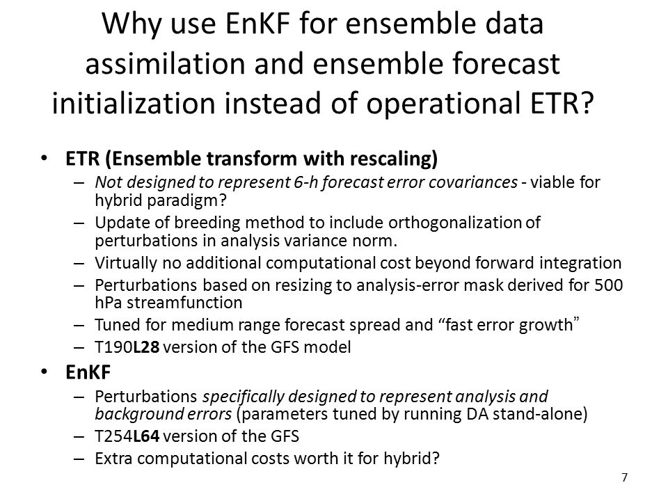 8 EnKF vs.