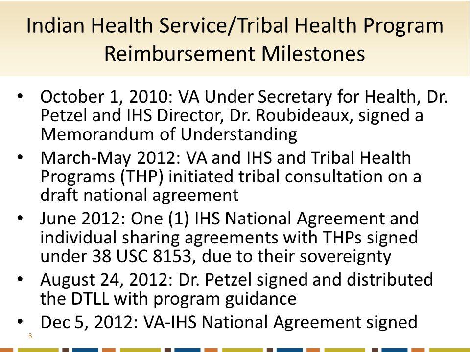 October 1, 2010: VA Under Secretary for Health, Dr.