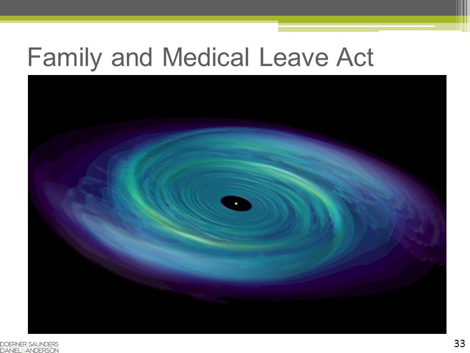 33 Family and Medical Leave Act