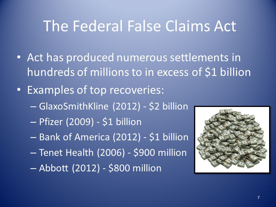 The North Carolina False Claims Act The North Carolina Medical Assistance Provider False Claims Act ( Medicaid FCA ) preceded the North Carolina False Claims Act ( NC FCA ) The Medicaid FCA is still in effect The NC FCA was passed on August 28, 2009 and became effective on January 1, 2010 28