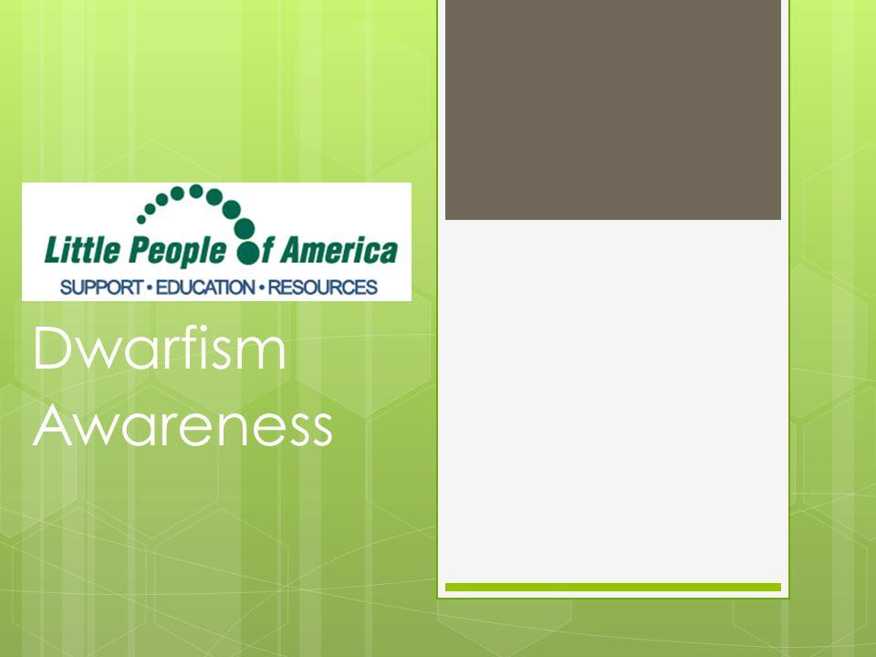 Dwarfism Awareness