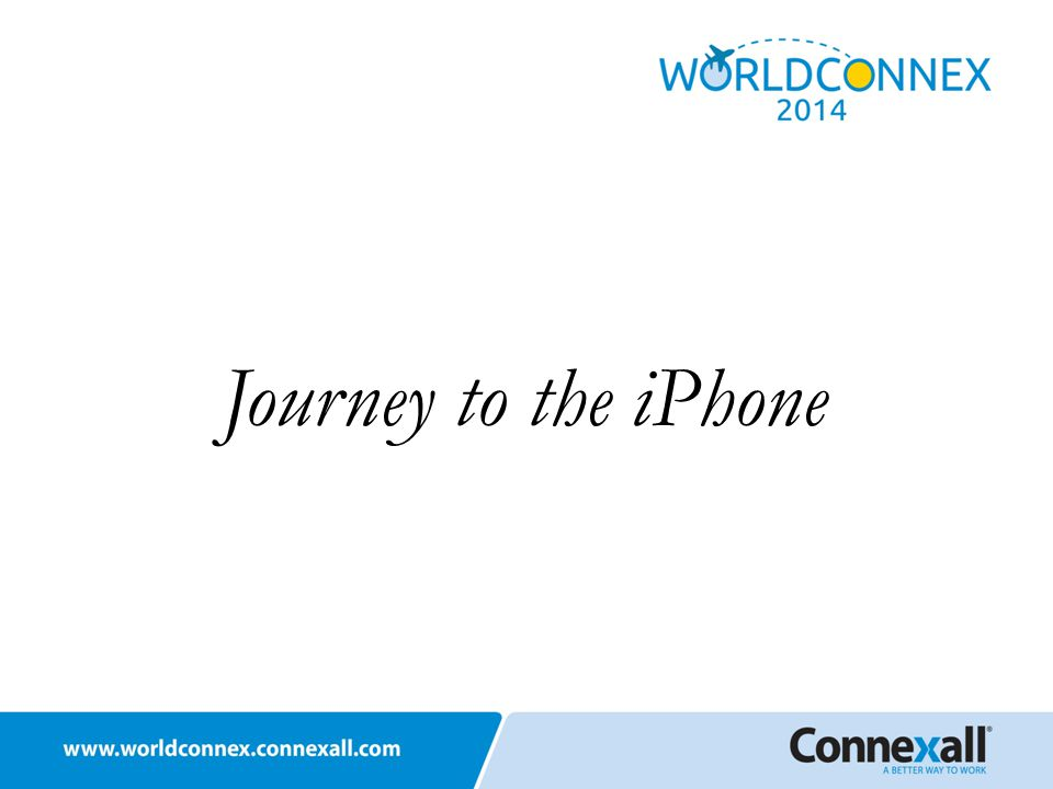 Journey to the iPhone
