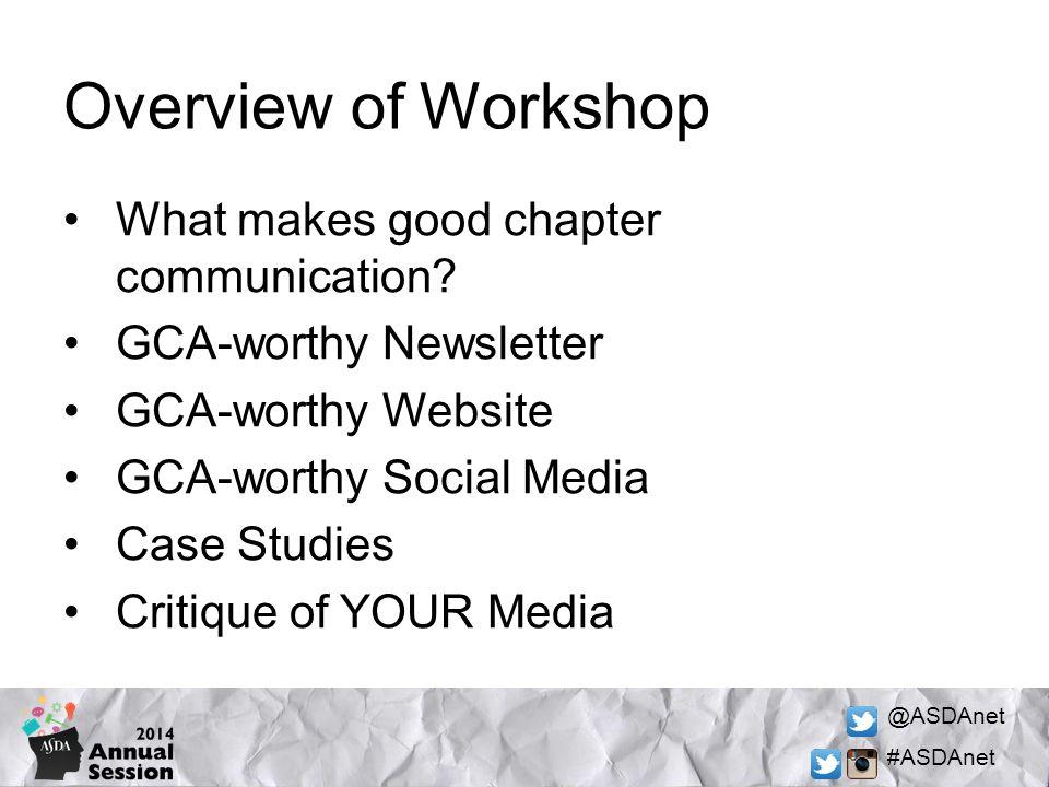@ASDAnet #ASDAnet What makes good communication.