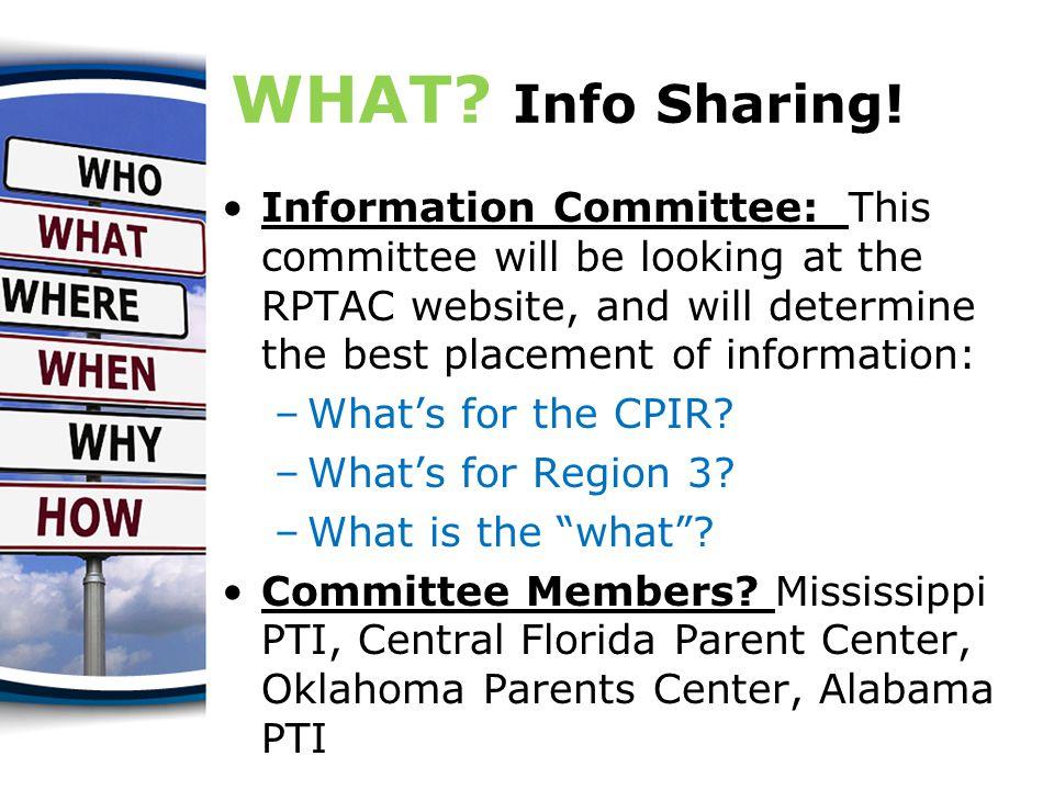 WHERE.Regional Meeting.