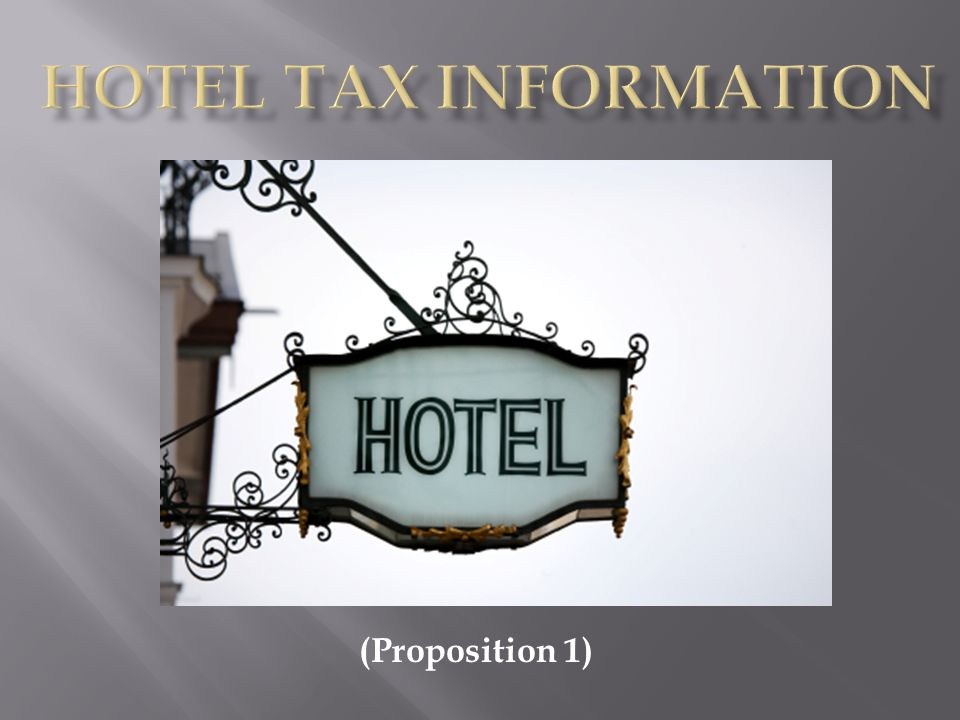 Certain individuals are exempt from the tax provided adequate documentation is submitted verifying their exemption.