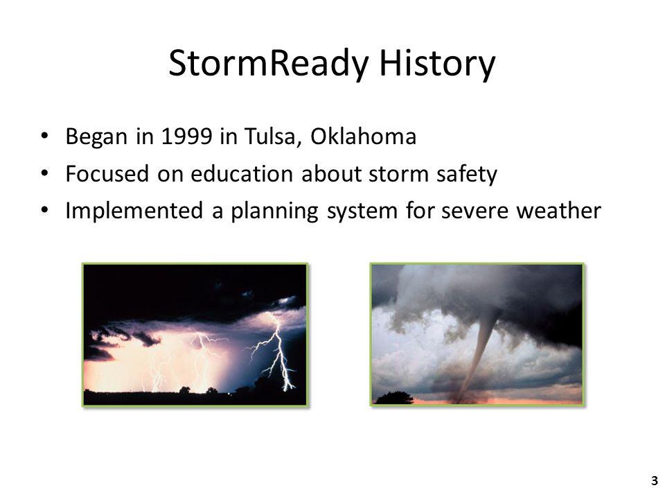 Q & A I ve heard of a program called TsunamiReady.
