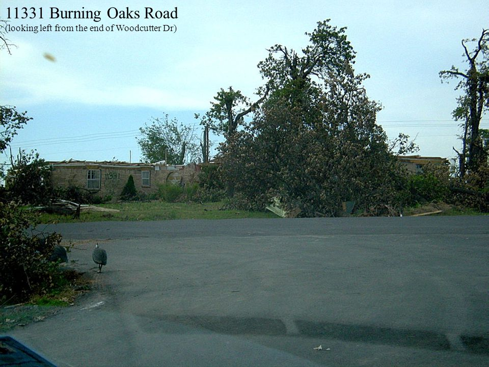 11331 Burning Oaks Road (looking left from the end of Woodcutter Dr)