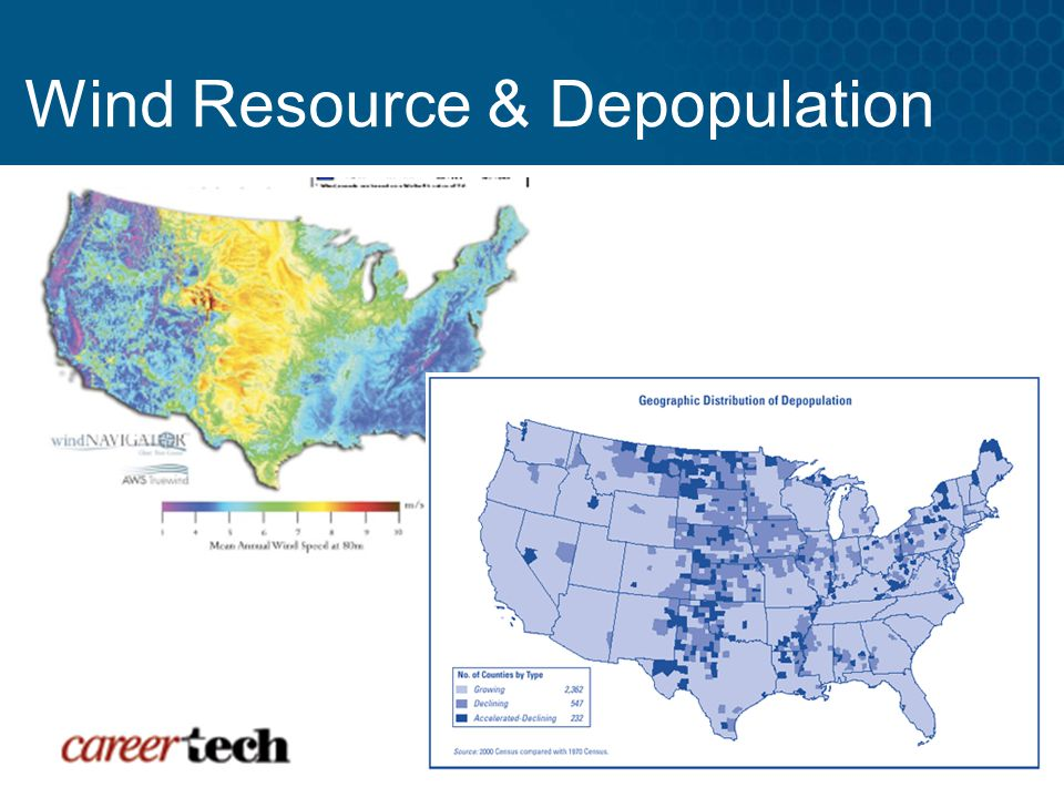 Wind Resource & Depopulation