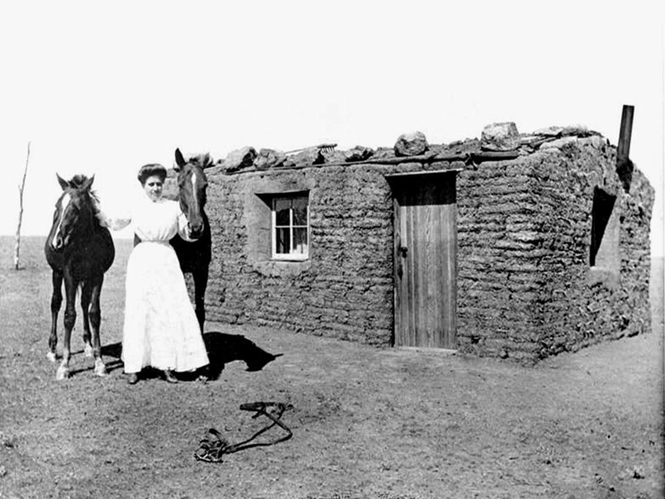 A Pioneer's Sod House, SD A Pioneer's Sod House, SD