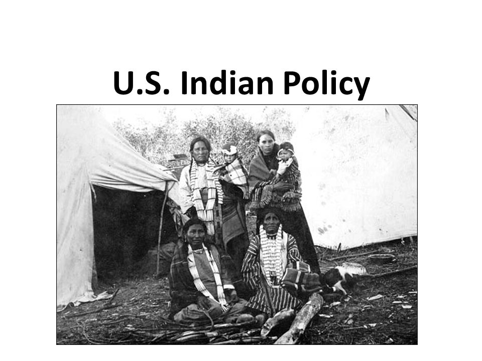 U.S. Indian Policy