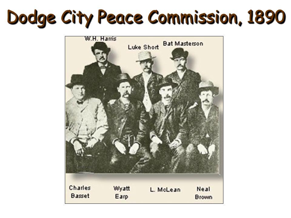 Dodge City Peace Commission, 1890