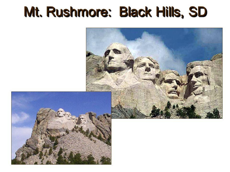 Mt. Rushmore: Black Hills, SD