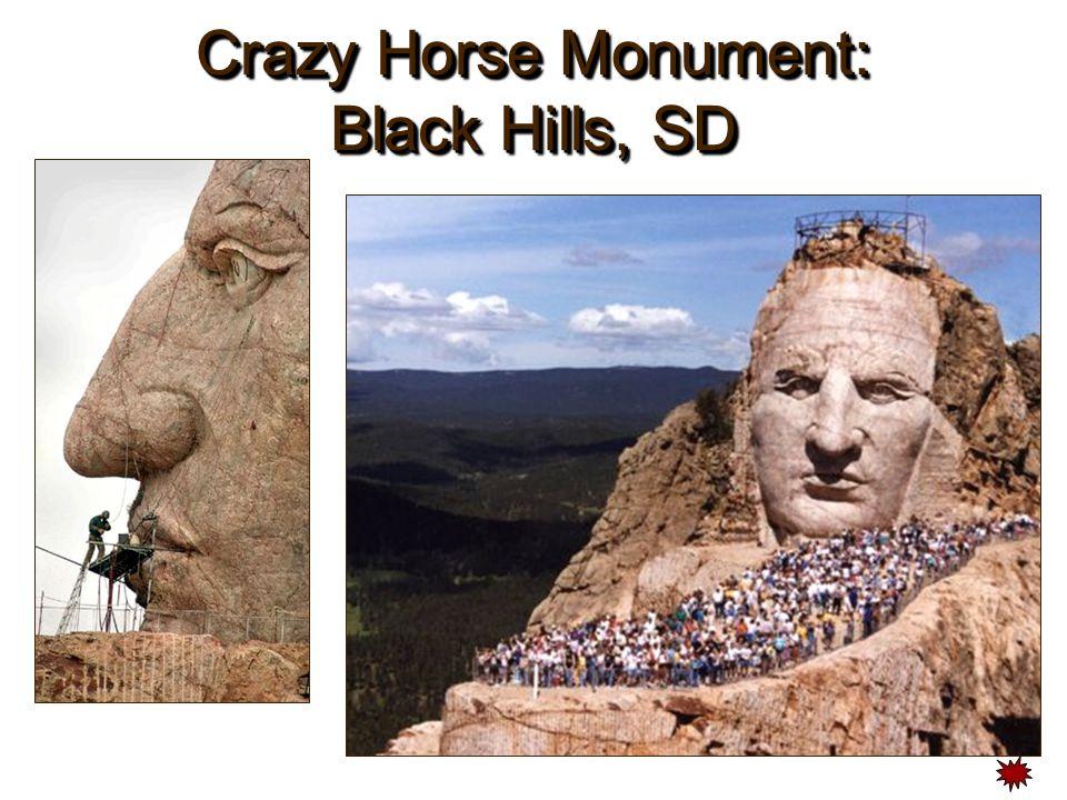 Crazy Horse Monument: Black Hills, SD