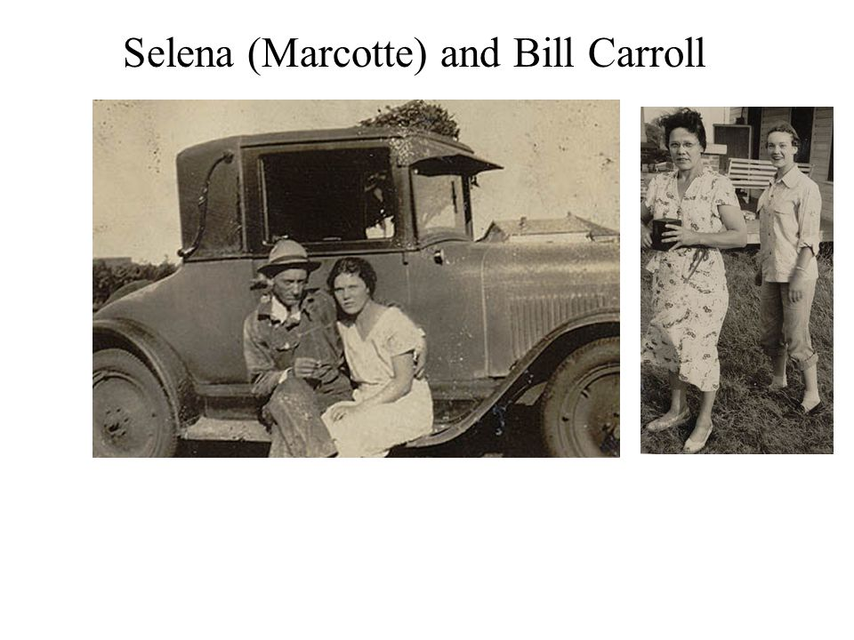 Selena (Marcotte) and Bill Carroll