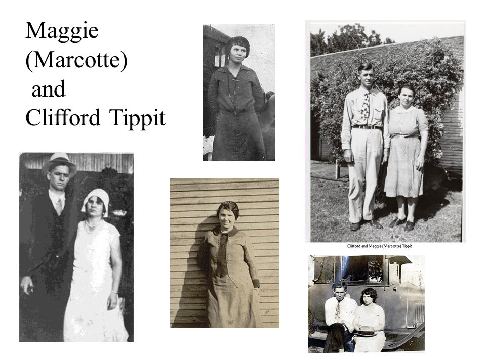 Maggie (Marcotte) and Clifford Tippit