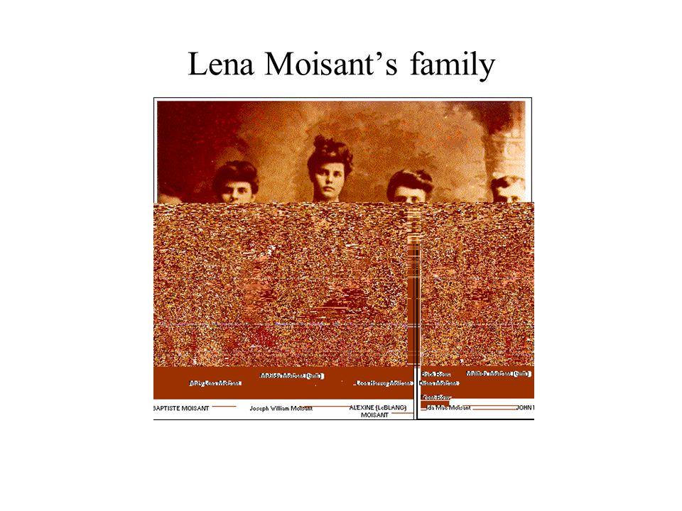 Lena Moisant's family