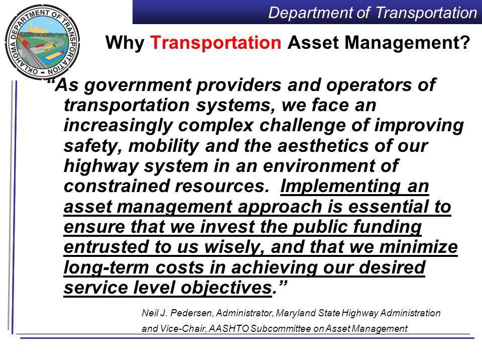 Department of Transportation RAMP