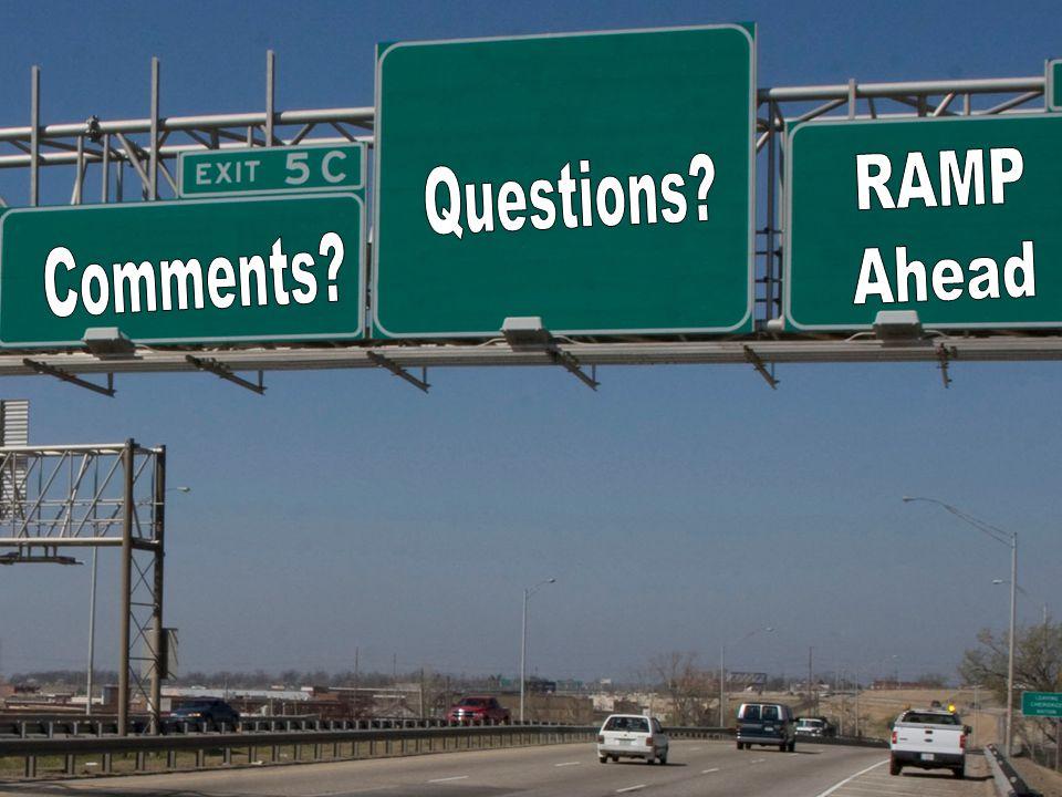 Department of Transportation RAMP@odot.org 44