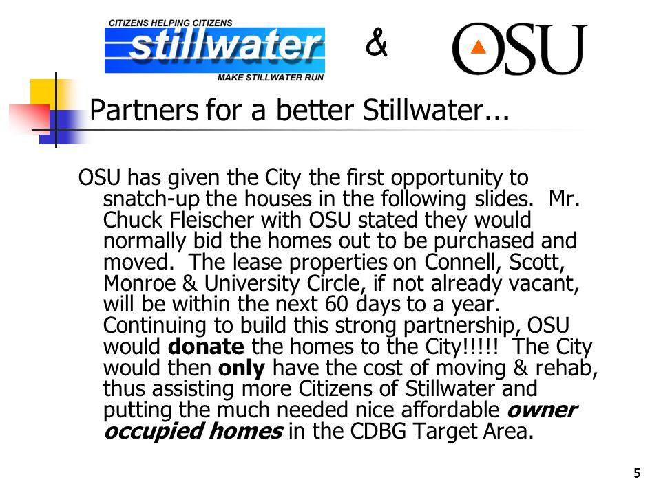 5 Partners for a better Stillwater...
