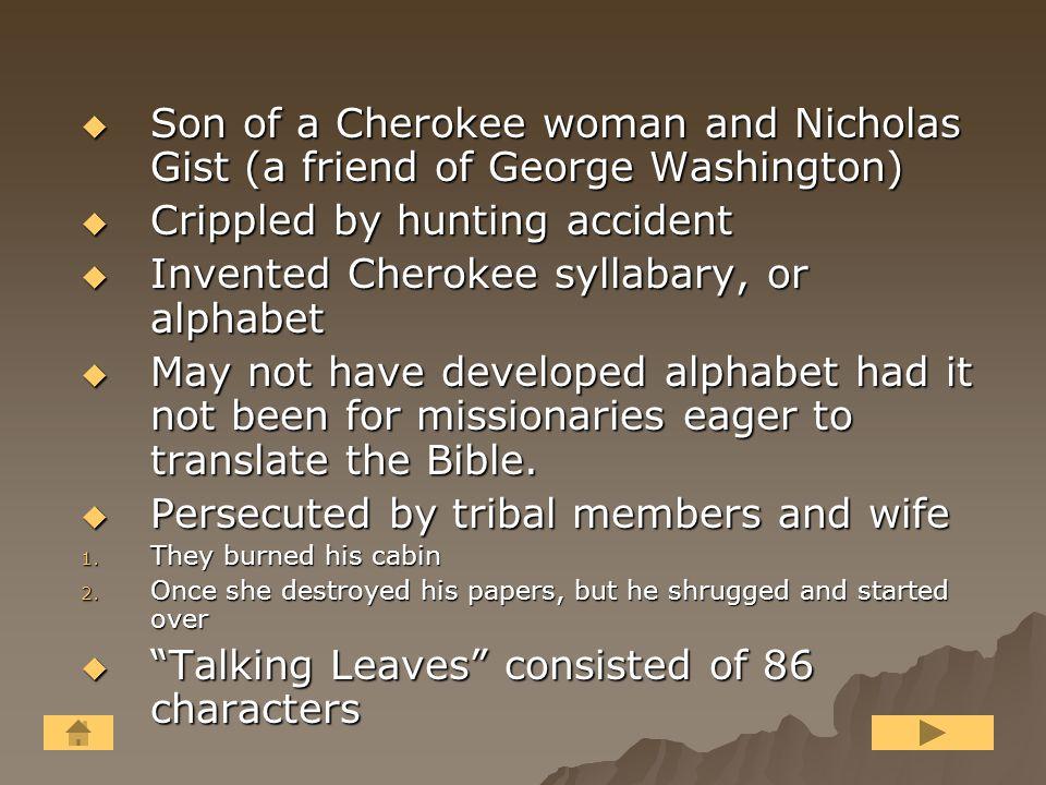 George Guess aka Sequoyah