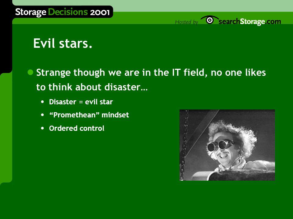 Evil stars.