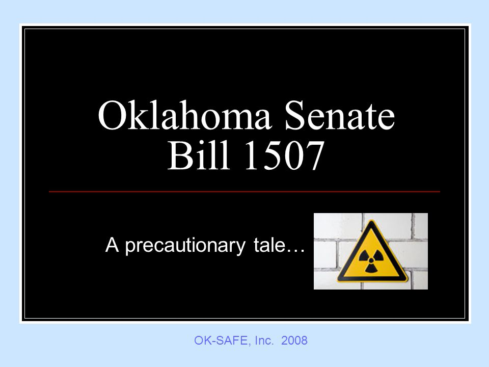 SB 1507 Introduced 2/4/2008 State documents and reports; requiring documents be filed with Governor and Legislature in electronic format; requiring financial documents be filed in electronic format.