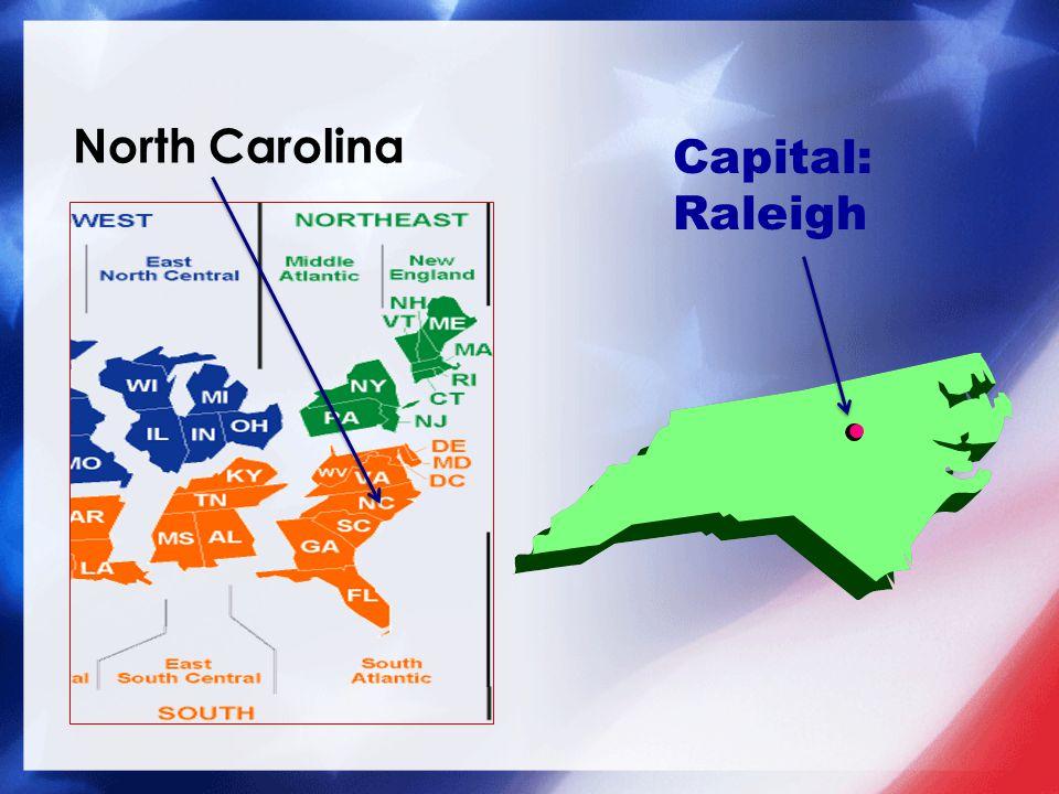 Capital: Raleigh
