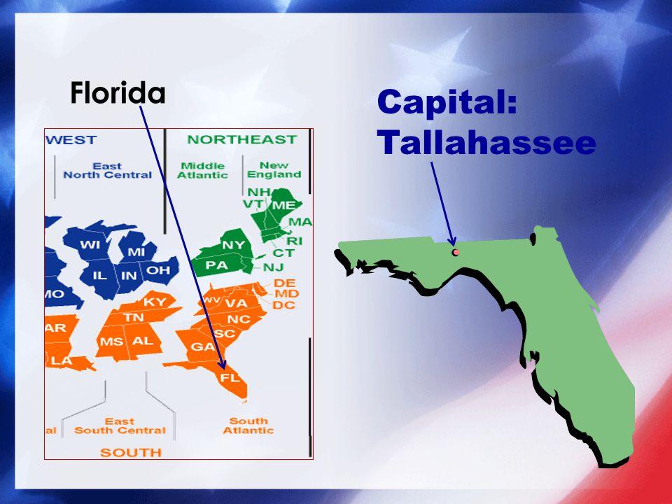 Capital: Tallahassee