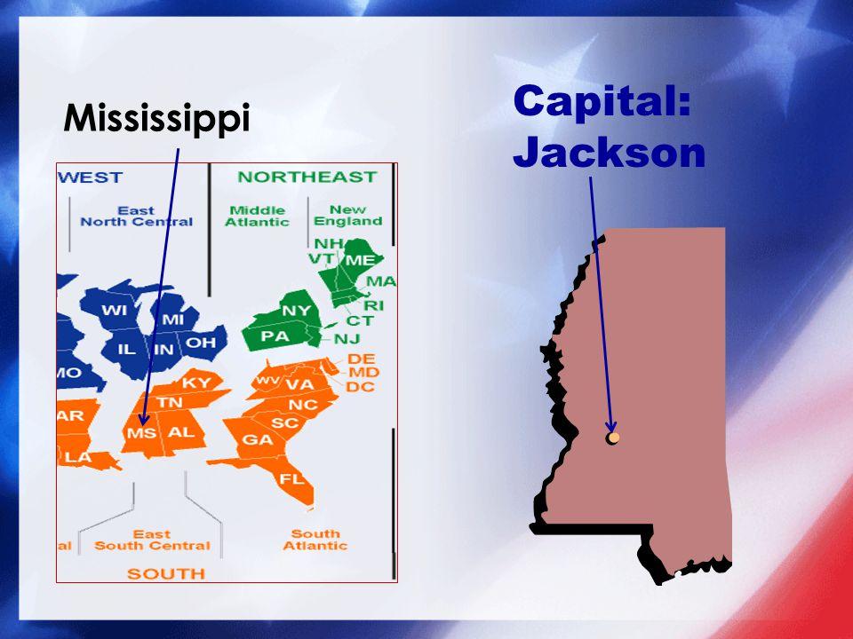 Capital: Jackson
