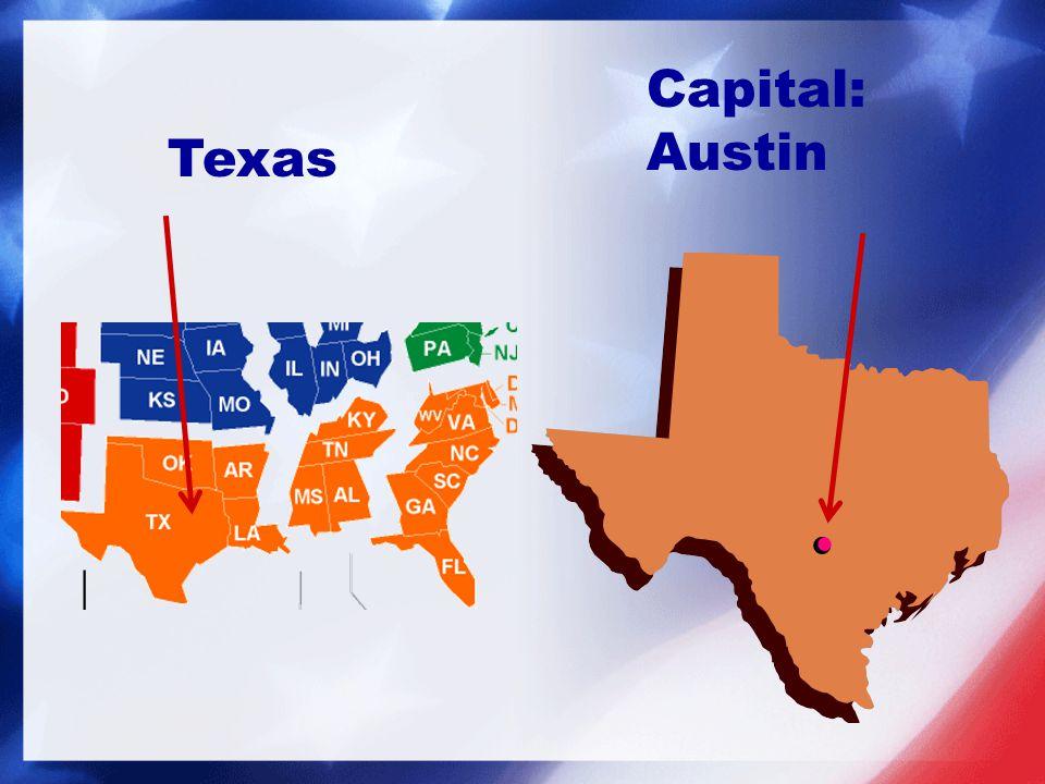 Capital: Austin Texas