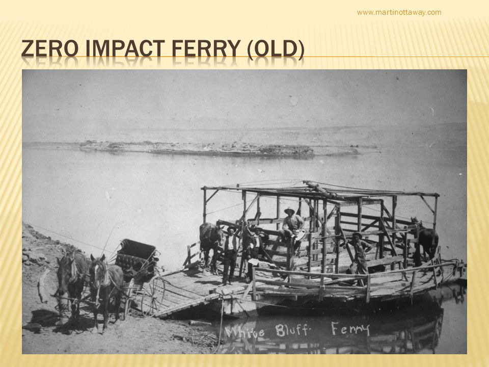  Before 2004 there was just a ditch  Make it a river  Olympic rowing  Drag races  And ferries  People love ferries  From stockyards to stock brokers www.martinottaway.com