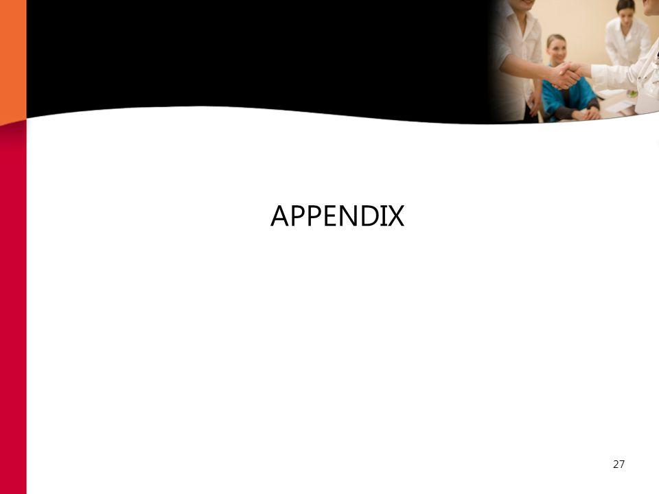 27 APPENDIX