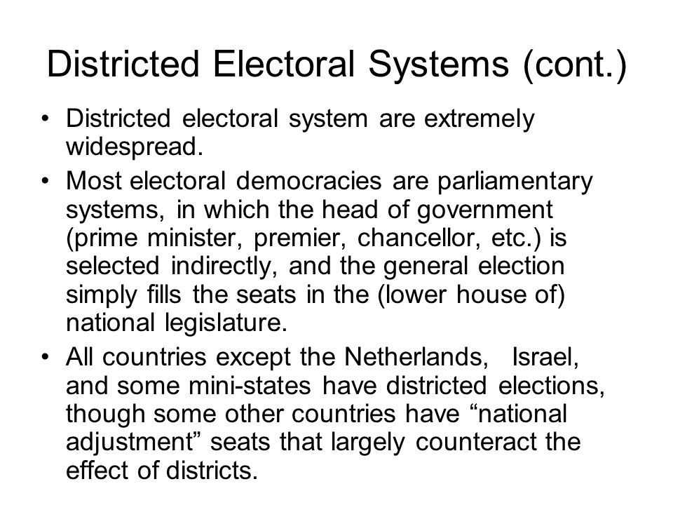 But evidently the translation of popular votes into electoral votes is cannot be entirely linear.