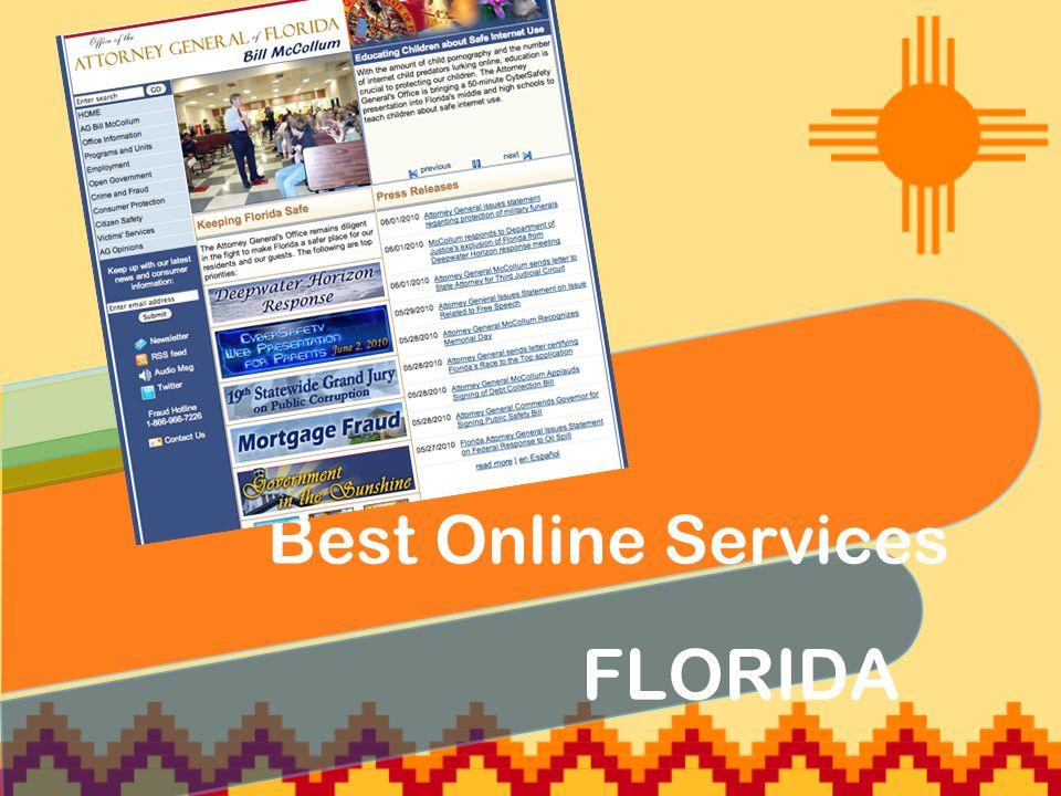 FLORIDA Best Online Services