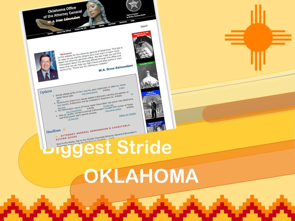 Biggest Stride OKLAHOMA