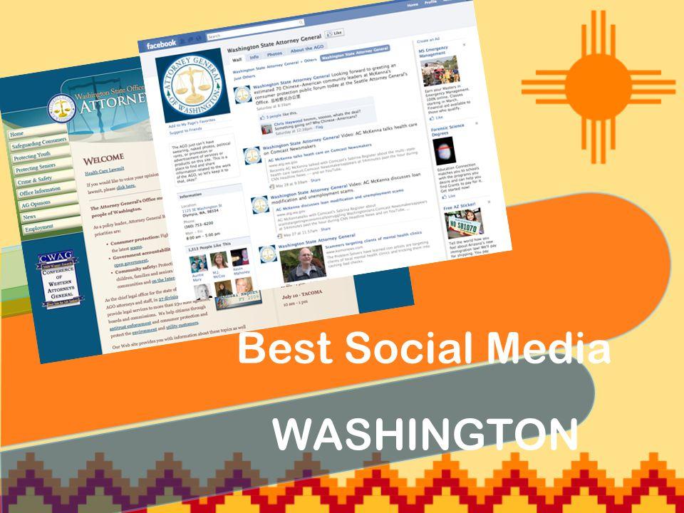 WASHINGTON Best Social Media