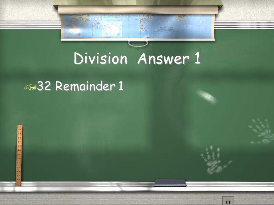 Multiplication Answer 3 / 1,000