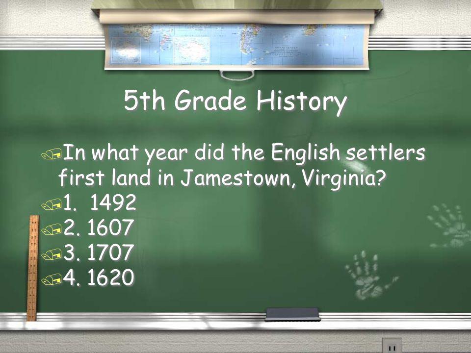 1,000,000 5th Grade History 5th Grade Literature 4th Grade Math 4th Grade History 3rd Grade Math 3rd Grade History 2nd Grade Spelling 2nd Grade Math 1st Grade Measurement 1st Grade Grammar 500,000 300,000 175,000 100,000 50,000 25,000 10,000 5,000 2,000 1,000