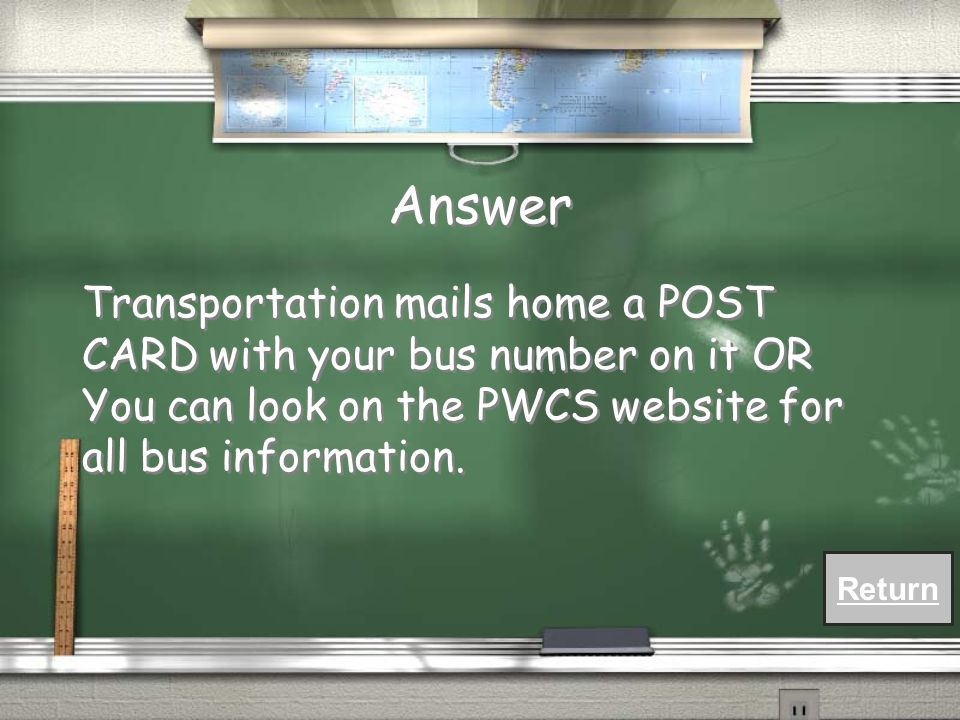 FAQ How do I know my bus number