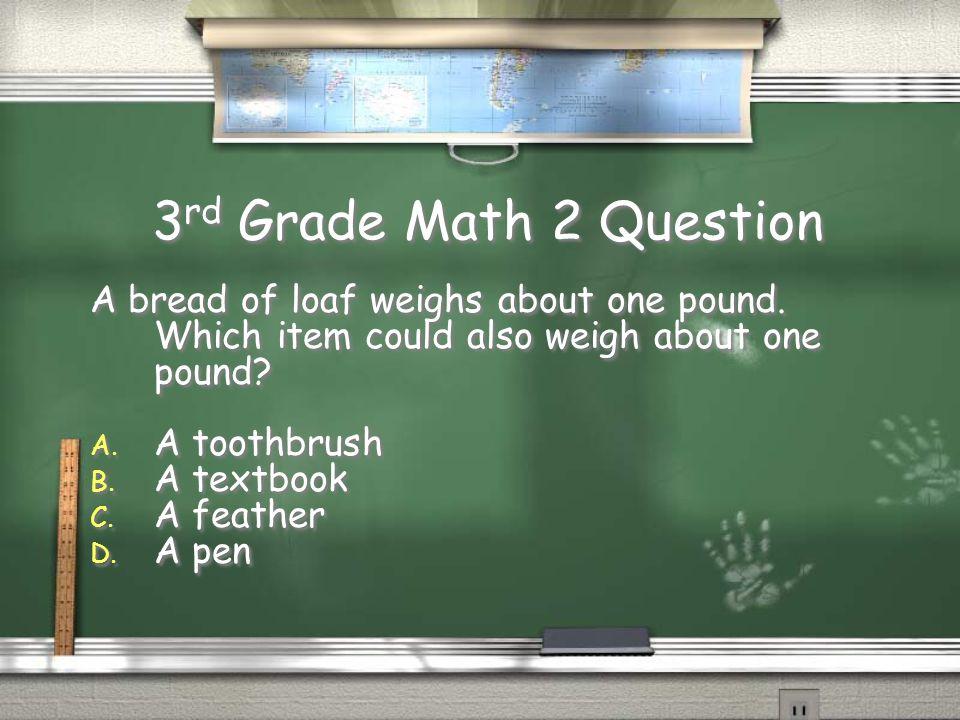 4th Grade ELA 2 Answer / A. best Return