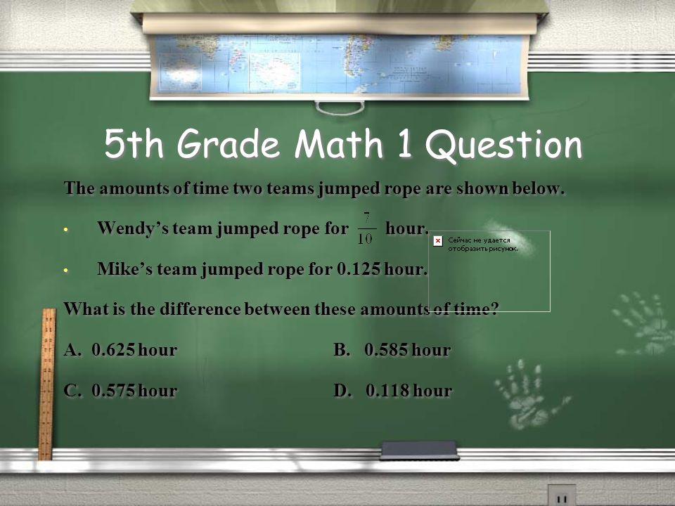 1,000,000 5th Grade Math 1 5th Grade ELA 1 4th Grade Math 1 4th Grade ELA 1 3rd Grade Math 1 3rd Grade ELA 1 5th Grade Math 2 5th Grade ELA 2 4th Grade Math 2 4th Grade ELA 2 500,000 300,000 175,000 100,000 50,000 25,000 10,000 5,000 2,000 1,000 3rd Grade Math 2