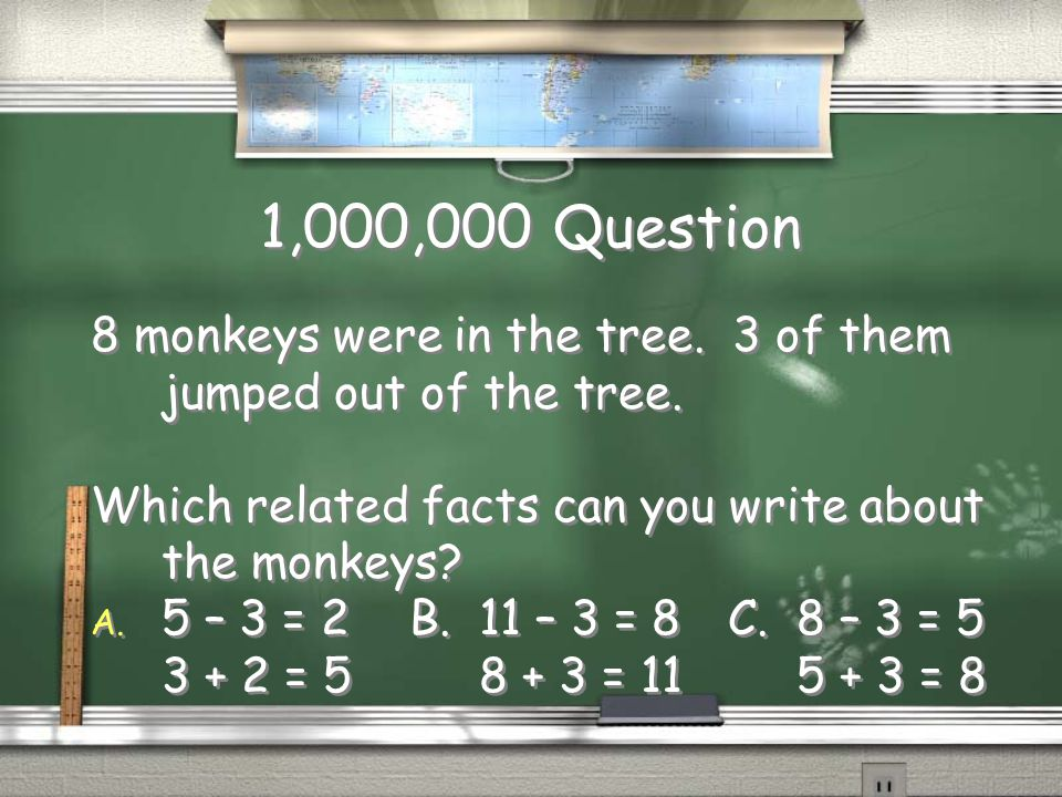 Million Dollar Question 5 th Grade Related Facts