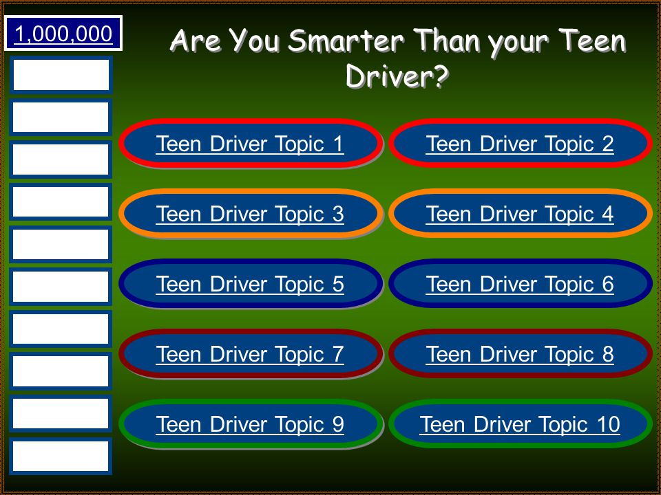 Are You Smarter Than Your Teen Driver