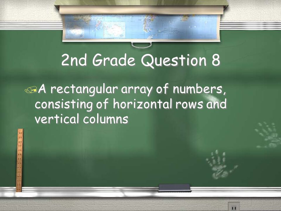 2nd Grade Answer 7 / Pascal's Triangle Return
